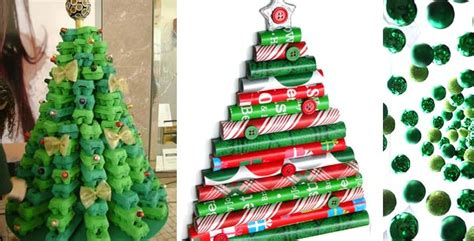 creative diy christmas tree ideas feel desain