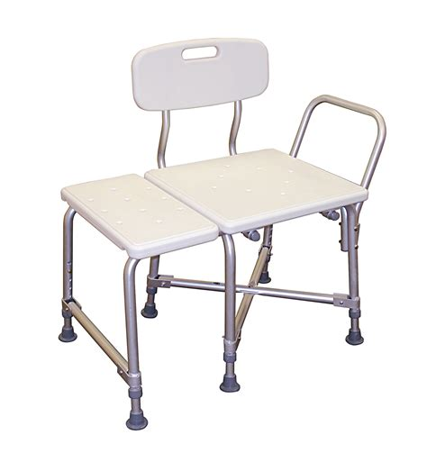 bariatric transfer bench deluxe bariatric transfer bench with cross frame brace