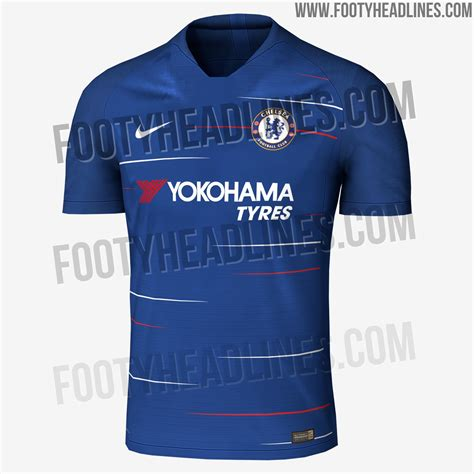 chelsea jersey 2018 exclusive chelsea 18 19 home kit leaked footy headlines