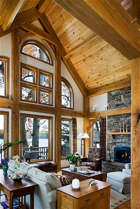 A Frame House Pictures West Lake Timber Frame Home Great Room Windows A Great