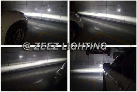 Projieprojector Led Lexus 3 Emiter high power led fog l projector driving w drl daytime