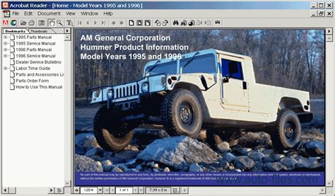 download car manuals pdf free 1996 hummer h1 electronic toll collection hummer h1 1995 1996 spare parts catalogs download electronic parts catalog epc online