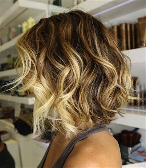 how to do medium length ombre hair blonde ombre hair short shoulder length hairstyle that
