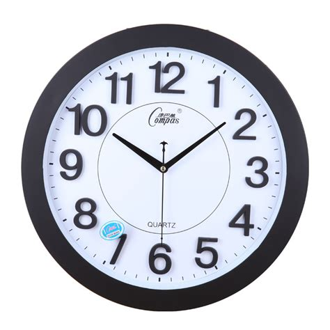 bedroom clocks clocks mute wall clock stereo digital fashion brief