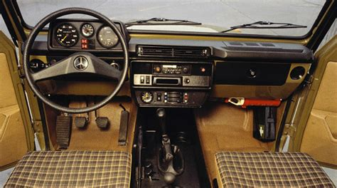 G Interior by Mercedes G Class History