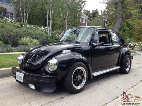 volkswagen super beetle custom skull bug