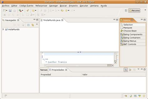 eclipse swing editor manual de java eclipse estr 233 llate y arde org