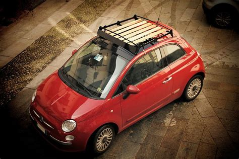 Fiat Luggage Rack by Iq Portabagagli Intelligent Travelling Awesome