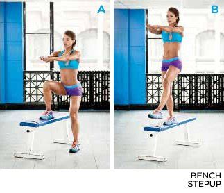 exercises using a step bench the secret to gorgeous glutes