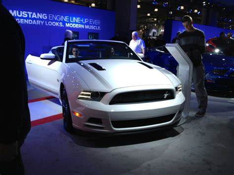 Mustang New York Auto Show by Mustangs New York International Auto Show 2012 The