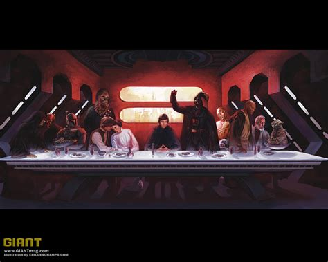 star wars the last star wars the last supper star wars wallpaper 3967082 fanpop