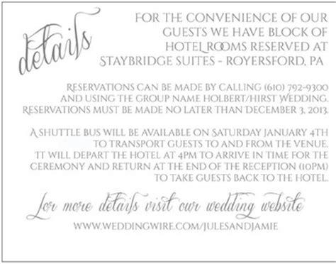 wedding invitation shuttle service wording hotel block with shuttle option weddings planning wedding forums weddingwire