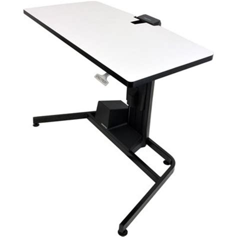 workfit d sit stand desk ergotron 24 219 200 workfit d height adjustable standing desk