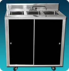 used portable three compartment sink premium portable sinks and portable bars