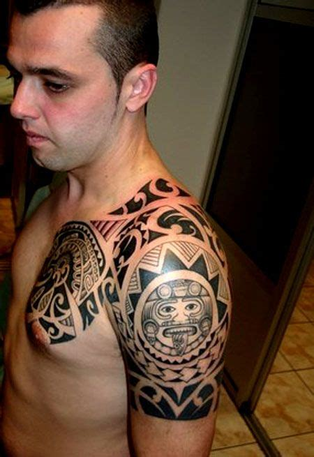 tribal tattoo with clouds tribal sleeve designs cloud tattoos