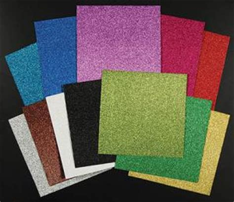 Glitter Paper For Card - finding card supplies