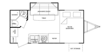 shadow cruiser floor plans 2010 cruiser shadow cruiser 185fbs travel trailer piqua