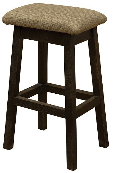 Fireside Lodge Bar Stools by Fireside Lodge Frontier Saddle Stool