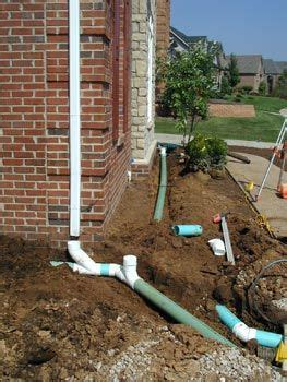 underground spring in backyard 12 best underground drainage north side of house images on
