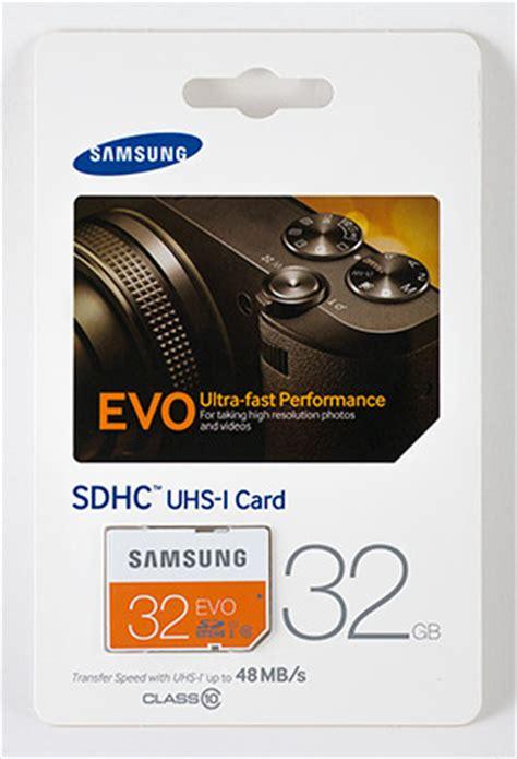 Memory Card Samsung Evo review samsung evo 32gb sdhc memory card 48mb s memory speed comparison performance