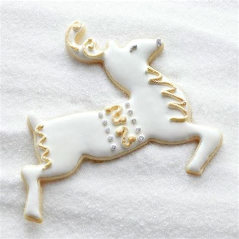 Silver Decorating Sugar by Santa S Reindeer Sugar Cookies Reindeer Reindeer