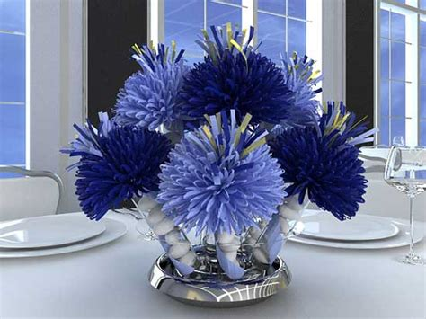 blue centerpieces for baby shower blue baby shower decorations best baby decoration