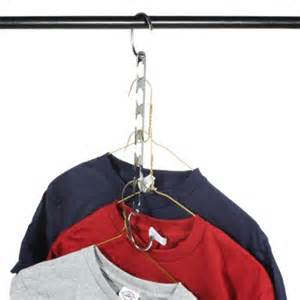 Closet Hangers Space Savers by 2 Strong Metal Hanger Cascaders Closet Organizer Space