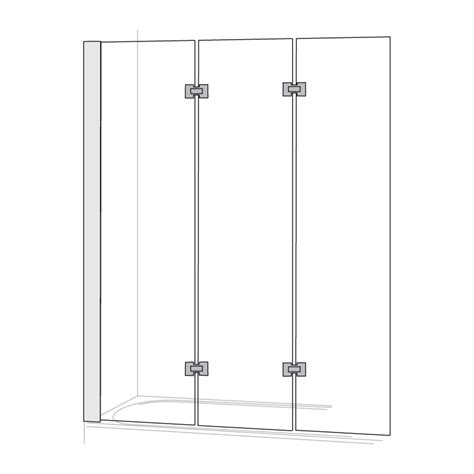 bath shower screens folding folding shower screens folding shower screens in