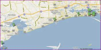 mississippi gulf coast casinos map