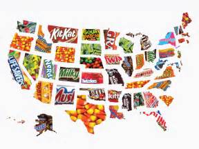 map the most popular in every us state