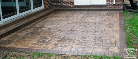 Concrete Patio St by Concrete Patios In St Louis Mo