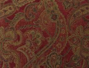 paisley uholstery fabric woven synthetic