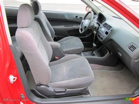 gray interior 1998 honda civic ex coupe photo 38120507