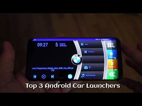 top 3 android car launchers youtube