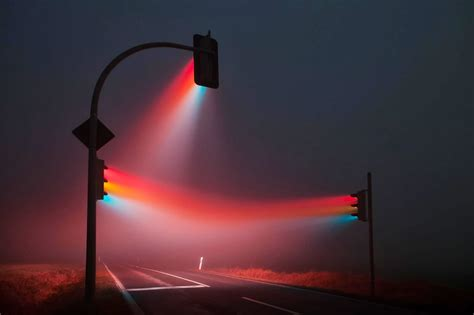 amazing light amazing road signal led light display art xcitefun net