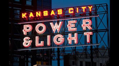 kansas city power and light district kansas city power light district night life youtube
