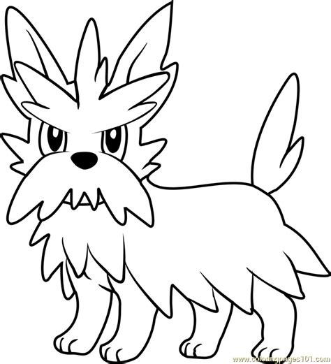 herdier pokemon coloring pages herdier pokemon coloring page free pok 233 mon coloring