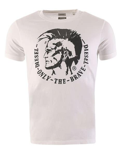 T Shirt Brave Diesel Fth diesel herren t shirt kurzarm t ulysse indianer kopf logo