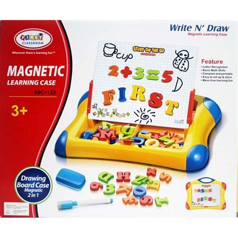 Drawing Board Magnetic Letter And Number 2in1 birthday present baby education 2in1 magnetic learning