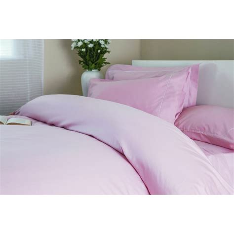 bed linen 400 thread count 400 thread count cotton duvet cover in blush pink
