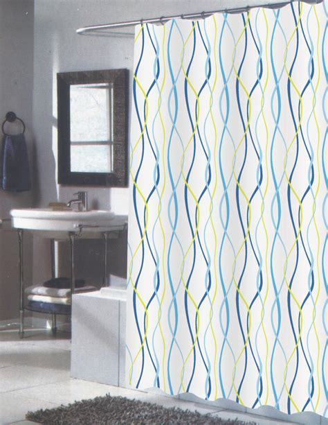 extended length shower curtains carnation home fashions inc extra long fabric shower