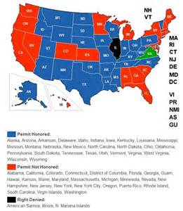 Virginia Concealed Carry Reciprocity Map by Out Of Staters Take Advantage Of Virginia S Relatively