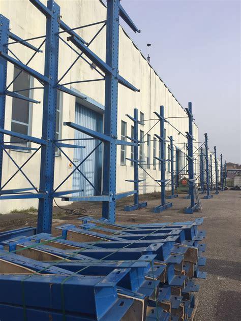 scaffali cantilever usati scaffalatura cantilever usata scaffali usati compravendita