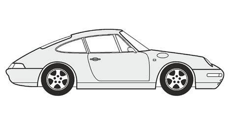 porsche drawing how to draw a porsche 911 coupe как нарисовать porsche