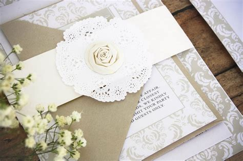 Make Your Own Wedding Invitations by How To Create Your Own Wedding Invitations Wedding Ideas