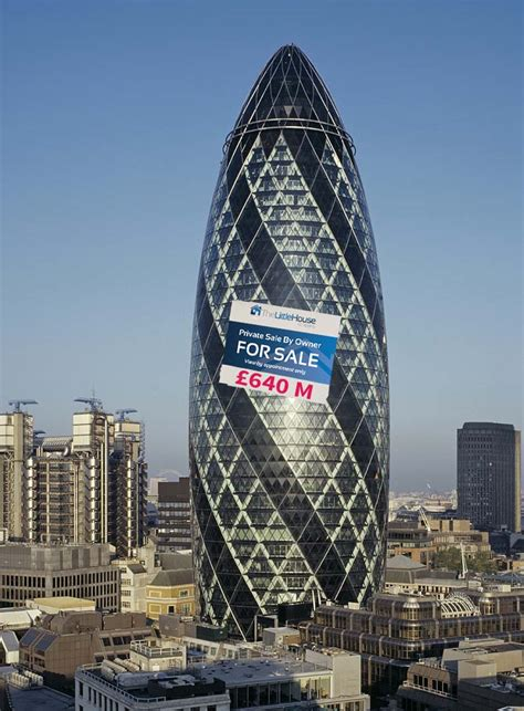 Free Online Architecture Design iconic gherkin goes on sale for 163 640 million the house