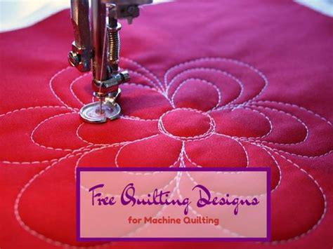 Beginner Machine Quilting by 25 Best Ideas About Machine Quilting Patterns On