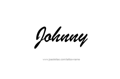 tattoo johnny tattoo designs johnny name designs