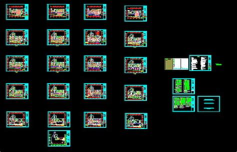 office building electrical cad map autocad blocks