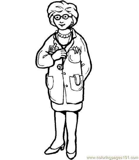 coloring page of a doctor doctor hospital coloring page 26 coloring page free
